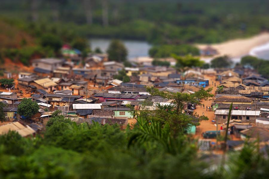 Ghana Photograph - Ghanaian Village by Samuel Whitton