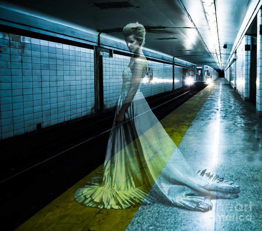 Bride Photograph - Ghost Bride by Diane Diederich