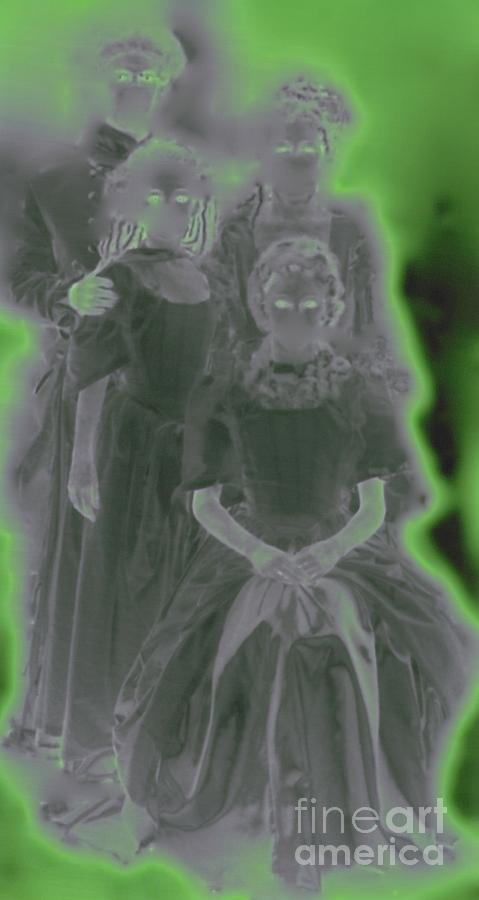 Jrr Photograph - Ghost Family Portrait by First Star Art
