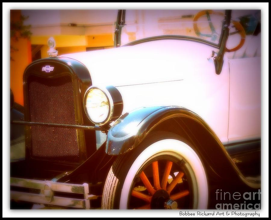 Classic Car Print Photograph - Ghost From The Past by Bobbee Rickard