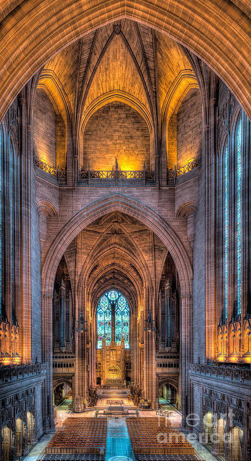 Aisle Photograph - Ghost In The Cathedral by Adrian Evans