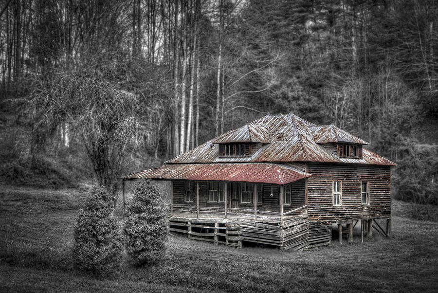 Appalachia Photograph - Ghost In The Window by Debra and Dave Vanderlaan