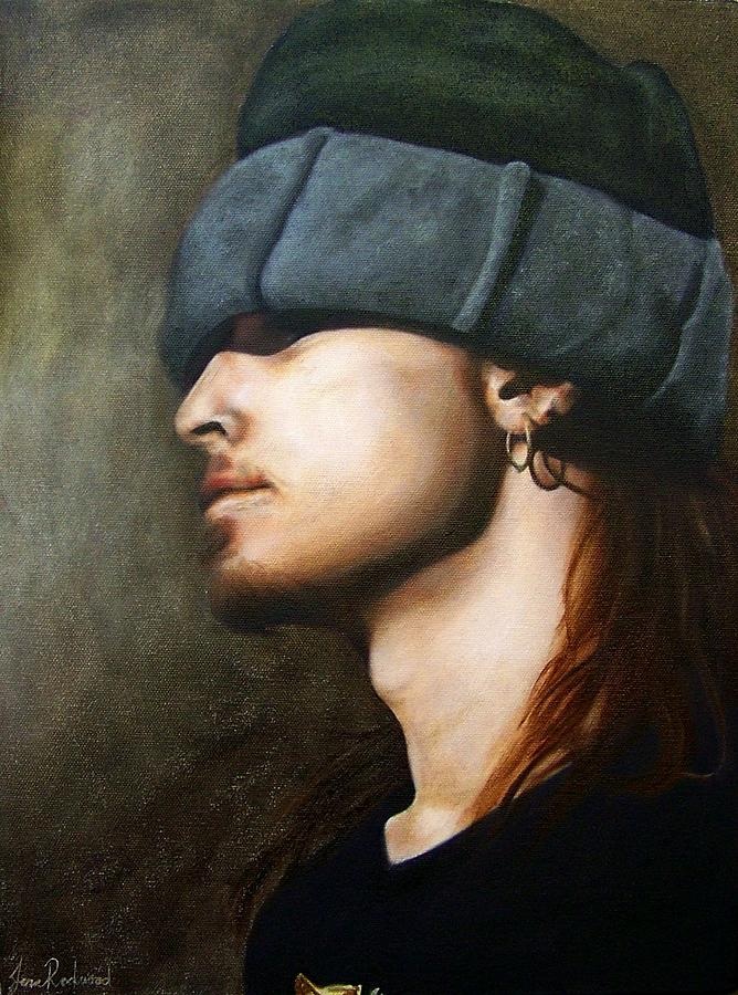 Jeff Ament Painting - Ghost by Jena Rockwood
