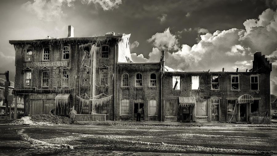 Tragedy Photograph - Ghost Of Our Town by Jaki Miller