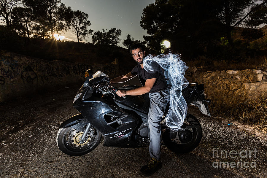 Ghost Rider Photograph by Eugenio Moya