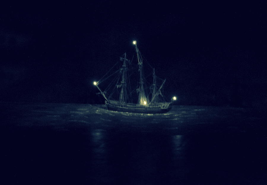 Ghost Photograph - Ghost Ship by Laurie Perry