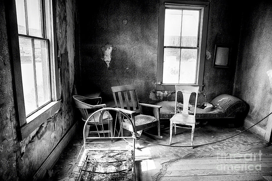 Americana Photograph - Ghost Town Still Life I by George Oze