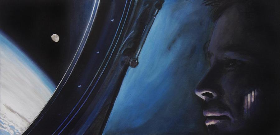 Nasa Painting - Ghosts Of Gemini by Simon Kregar