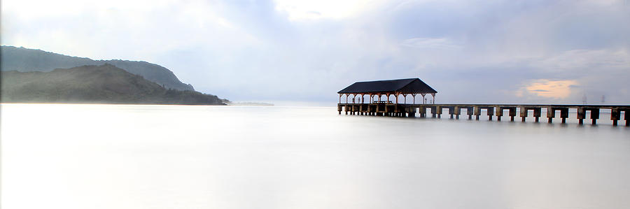 Hanalei Pier Photograph - Ghosts Of Hanalei by Ryan Smith