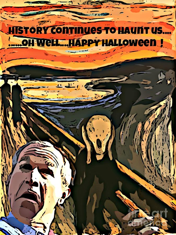 The Scream Photograph - Ghosts Of The Past by John Malone