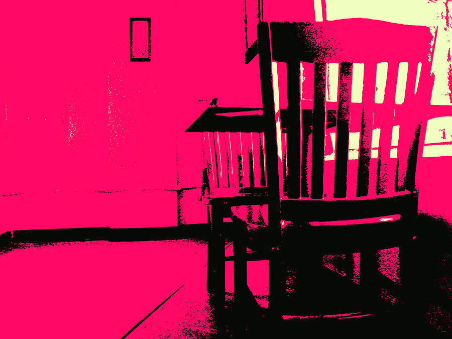 Chair Digital Art - Ghosts by Wendy J St Christopher
