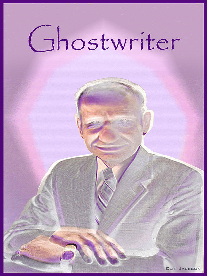Clif Jackson Art Photograph - Ghostwriter by Clif Jackson
