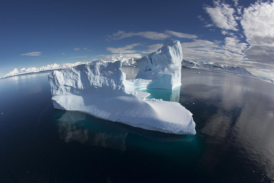 Giant Iceberg Gerlache Strait Photograph by Matthias  Breiter