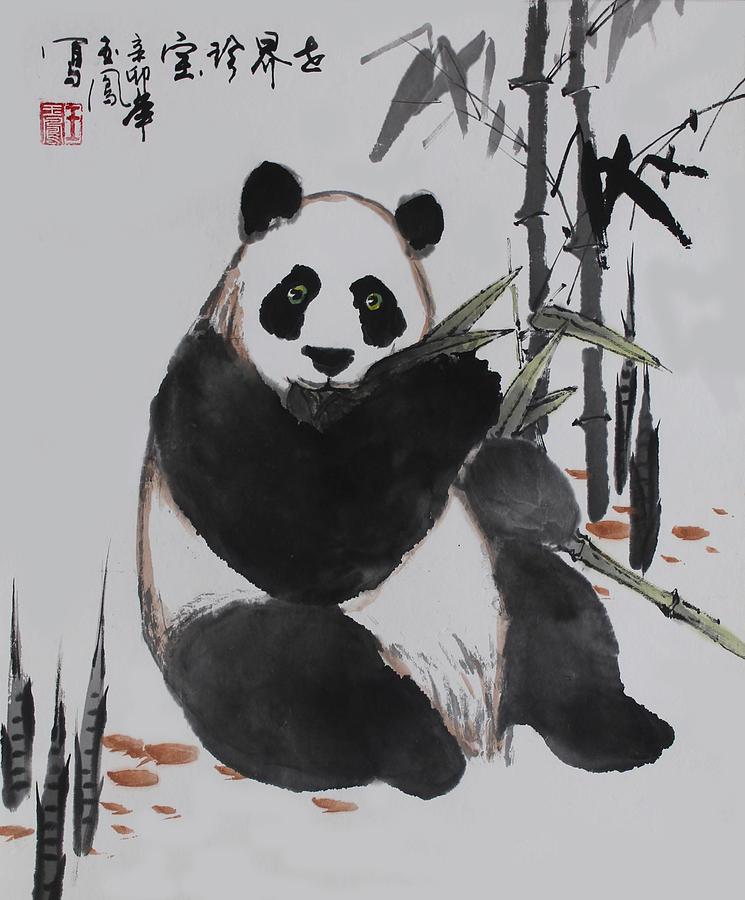 Giant Panda Photograph by Yufeng Wang
