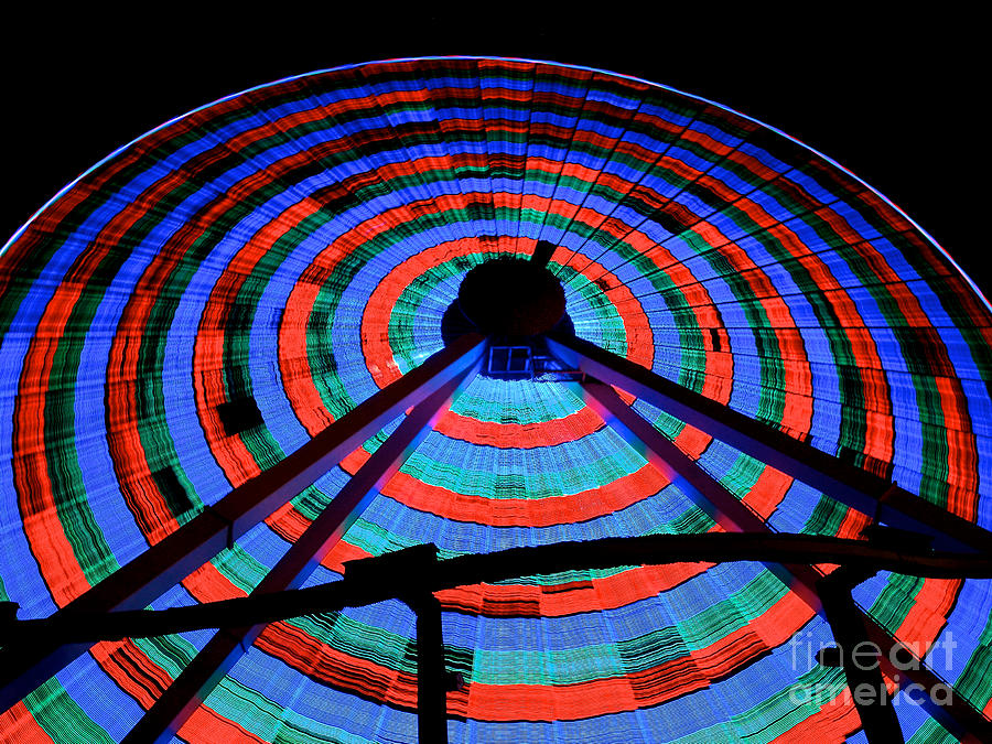 Giant Photograph - Giant Wheel by Mark Miller