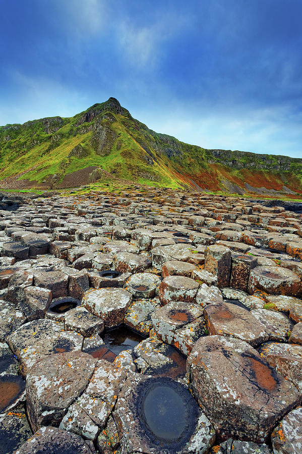 Giants Causeway On A Cloudy Day Photograph by Mammuth