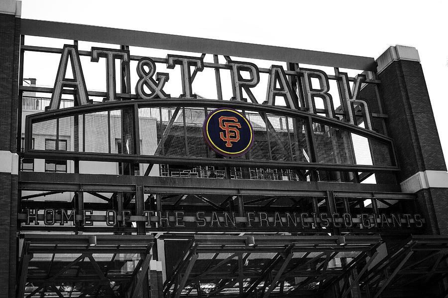 San Francisco Photograph - Giants Orange by SFPhotoStore