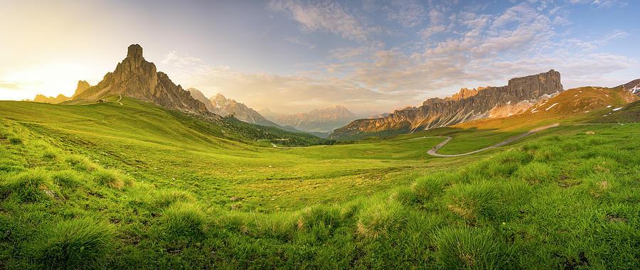 Giau Pass, Italy Photograph by Chalermkiat Seedokmai