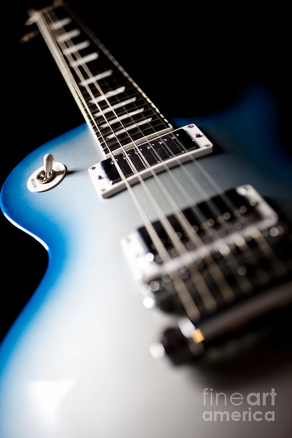 Gibson Electric Guitar Artistic Close Up Photograph By Jani Bryson