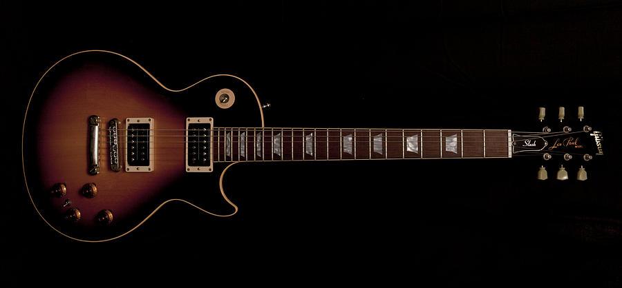 Slash Photograph - Gibson Les Paul by Maj Seda