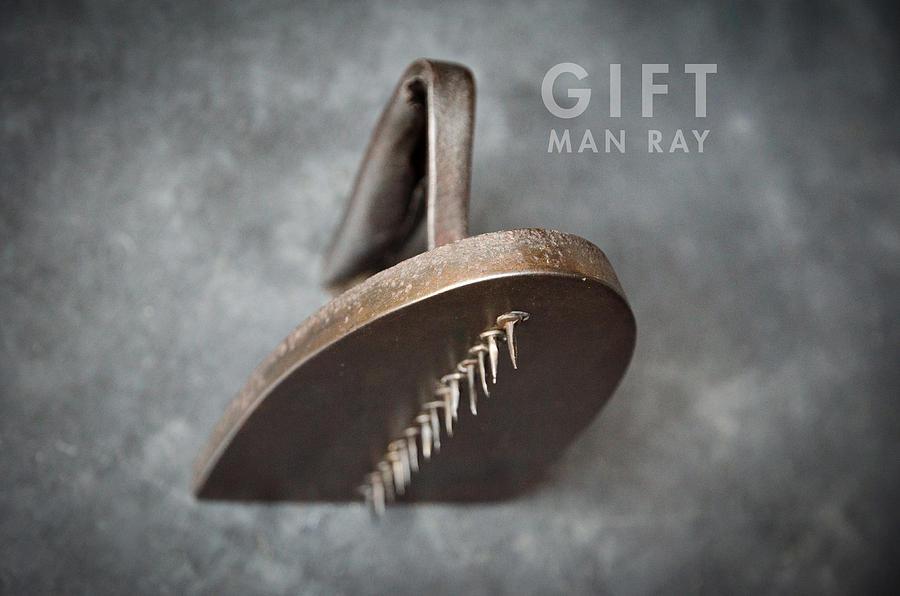Dada Photograph - Gift 3 by Jon Rendell