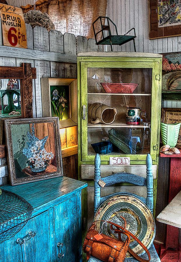Dress Shop Photograph - Gift Shop by Sandra Lynn