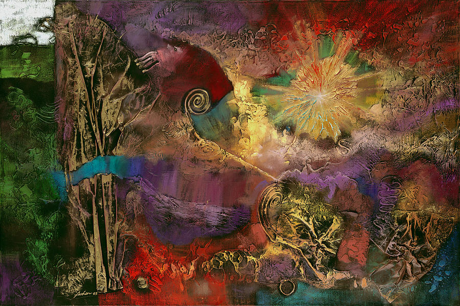 Gilgameshs Journey  Painting by Farhan Abouassali