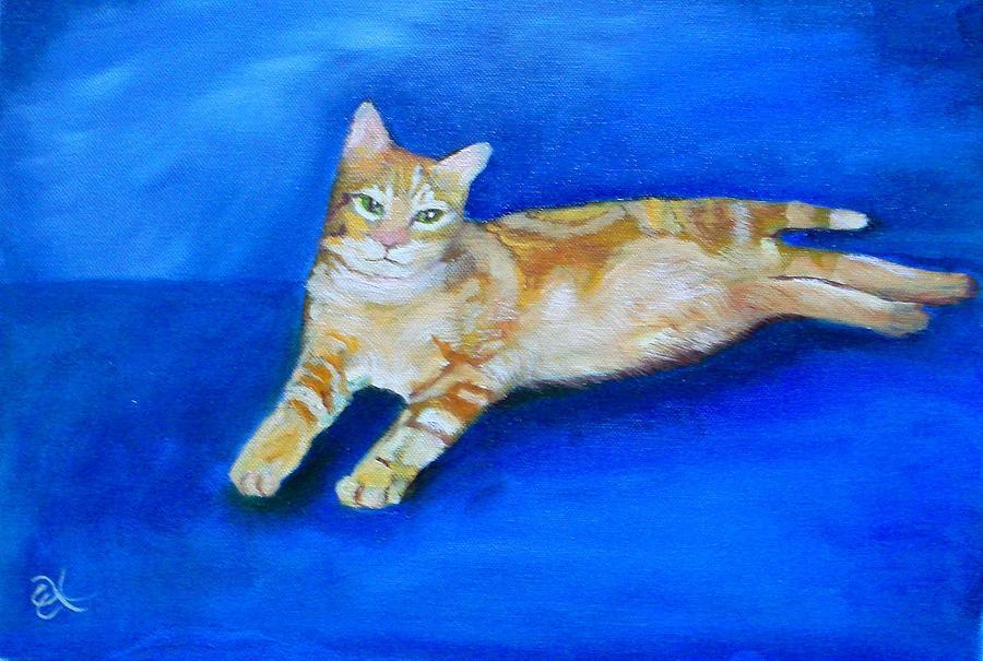 Portrait Painting - Ginger by Fineartist Ellen