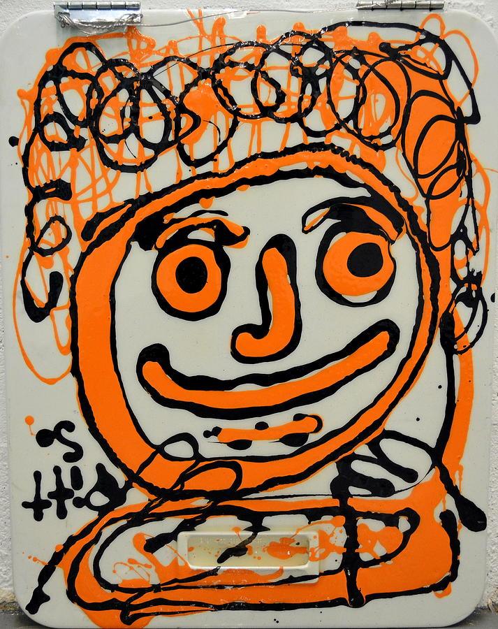Orange Crush Painting - Orange Crush by Greg Pitts