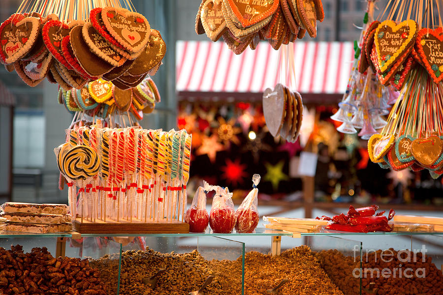 Market Photograph - Gingerbread And Candies by Jane Rix