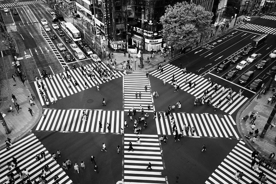 Ginza Photograph - Ginza by Shigehiro Ono