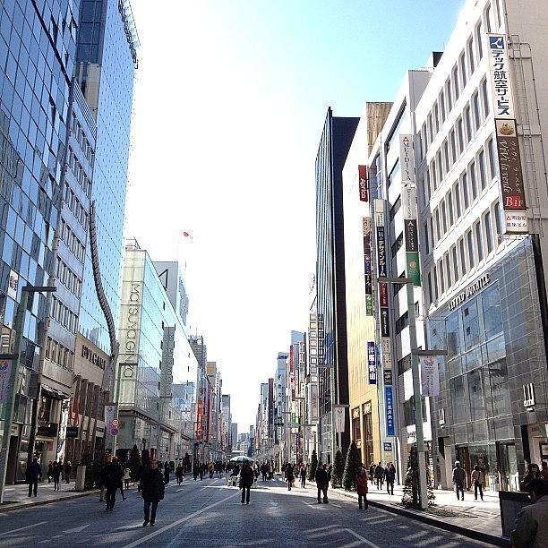 Ginza Photograph - #ginza#tokyo by Tokyo Sanpopo