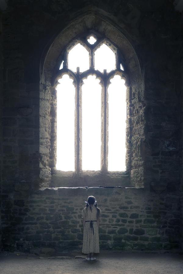 Girl Photograph - Girl In Chapel by Joana Kruse