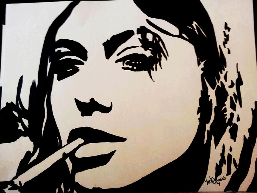 Girl Interrupted Drawing By Dark Designs Sharpie Art