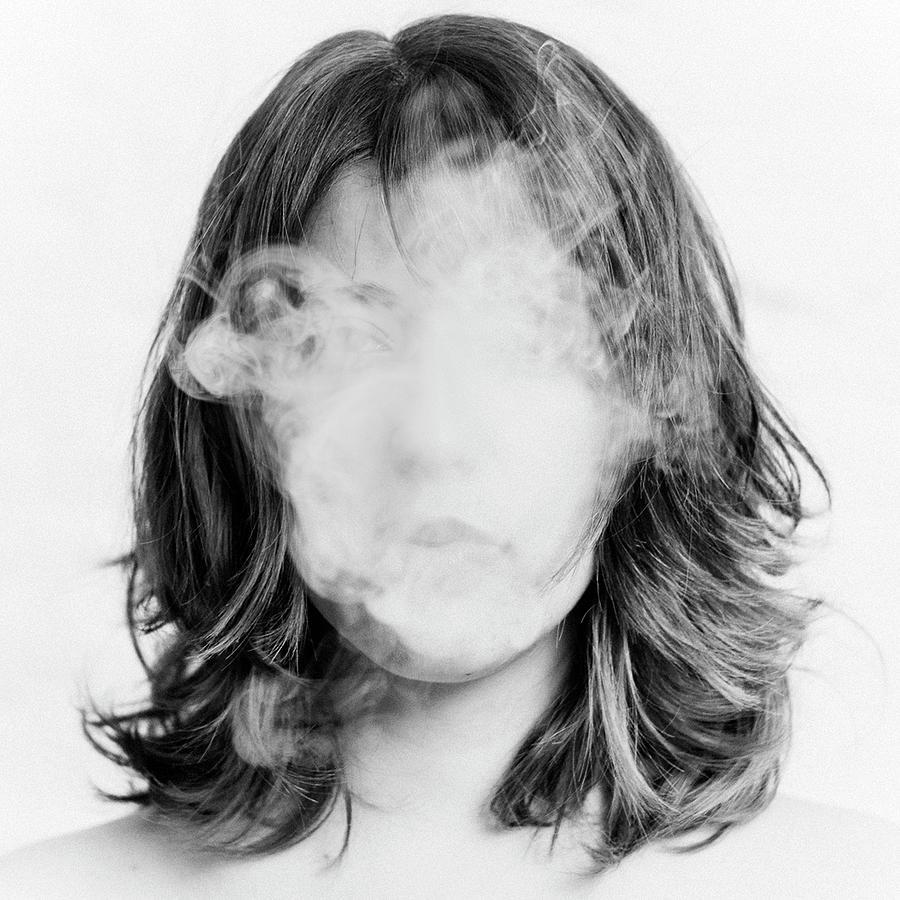 Girl Smoking Photograph by Lita Bosch