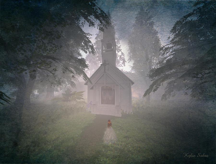Wedding Digital Art - Girls Dream by Kylie Sabra