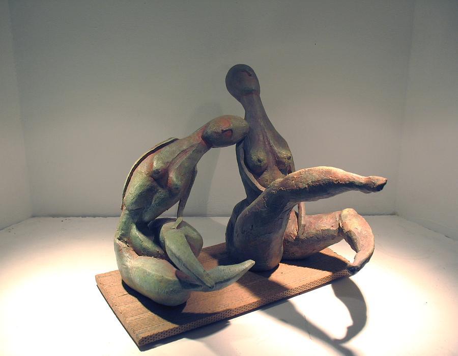 Girls Sculpture by Flow Fitzgerald
