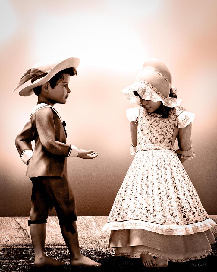 Girl Photograph - Give It Back by Bob Orsillo