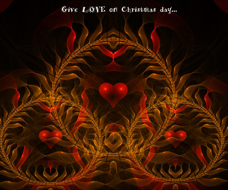 give love on christmas day essay The most profound thing she modeled was a love day or father's day, or the christmas holidays, consider the possibility that the best present you could give to.