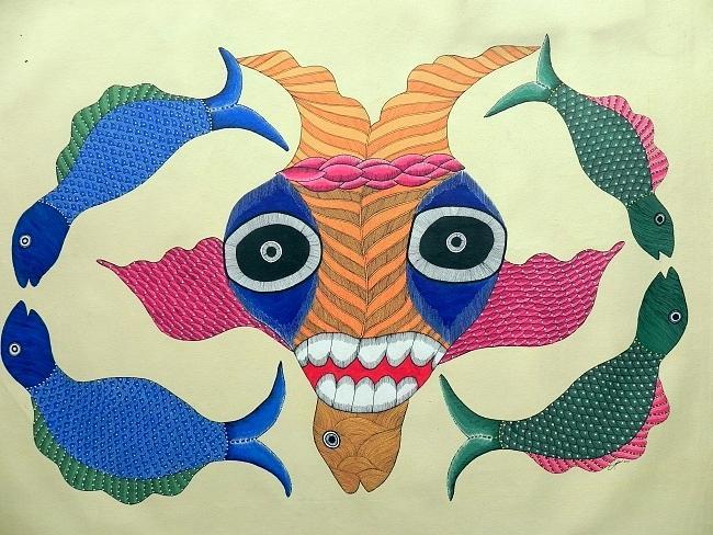 Japani Shyam Painting - Gjs 02 by Japani Shyam