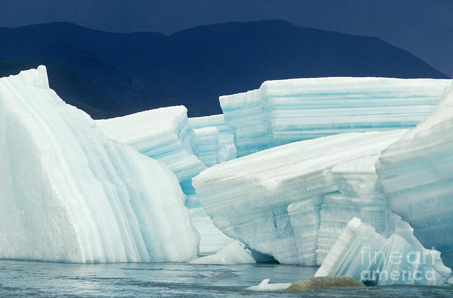 Alaska Scenic Photograph - Glacial Ice by Art Wolfe