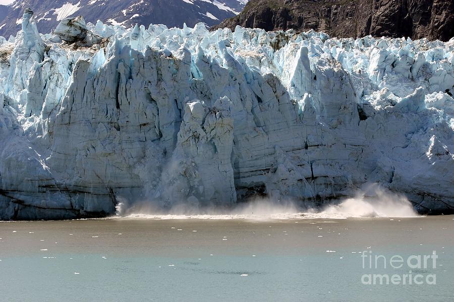 Glacier Bay Photograph - Glacier Bay Alaska by Sophie Vigneault
