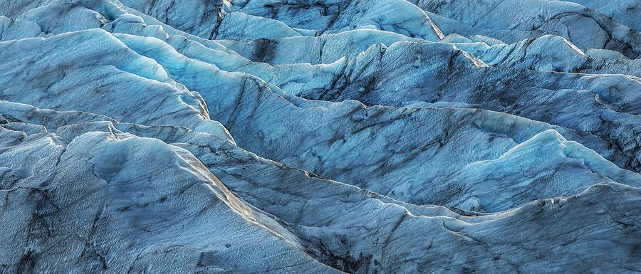 Black Photograph - Glacier Blue by Jon Glaser