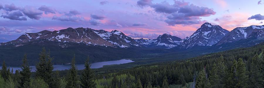 Glacier Photograph - Glacier Glow by Chad Dutson