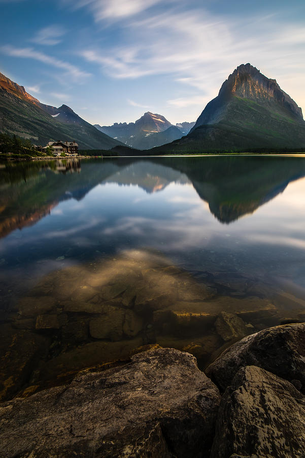 Glacier Photograph - Glacier National Park 2 by Larry Marshall