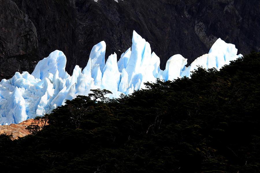Argentina Photograph - Glacier Onelli by Arie Arik Chen