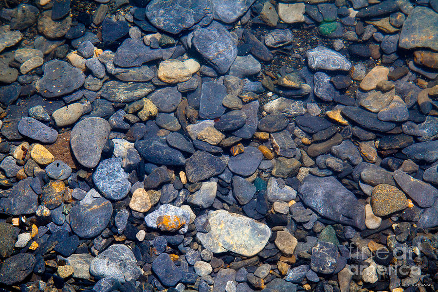 Alaska Photograph - Glacier Till by Chris Heitstuman