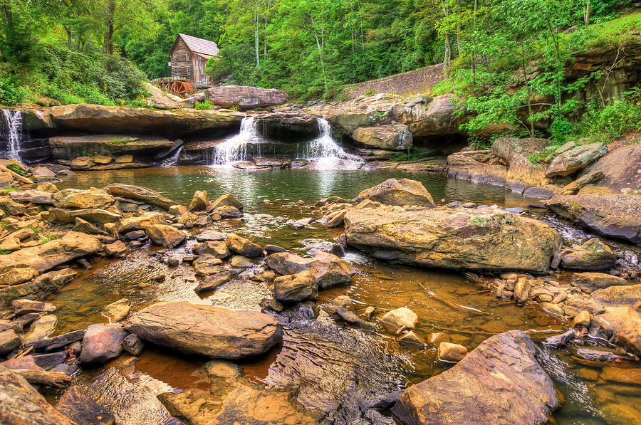 America Photograph - Glade Creek Mill - Beckley West Virginia by Gregory Ballos