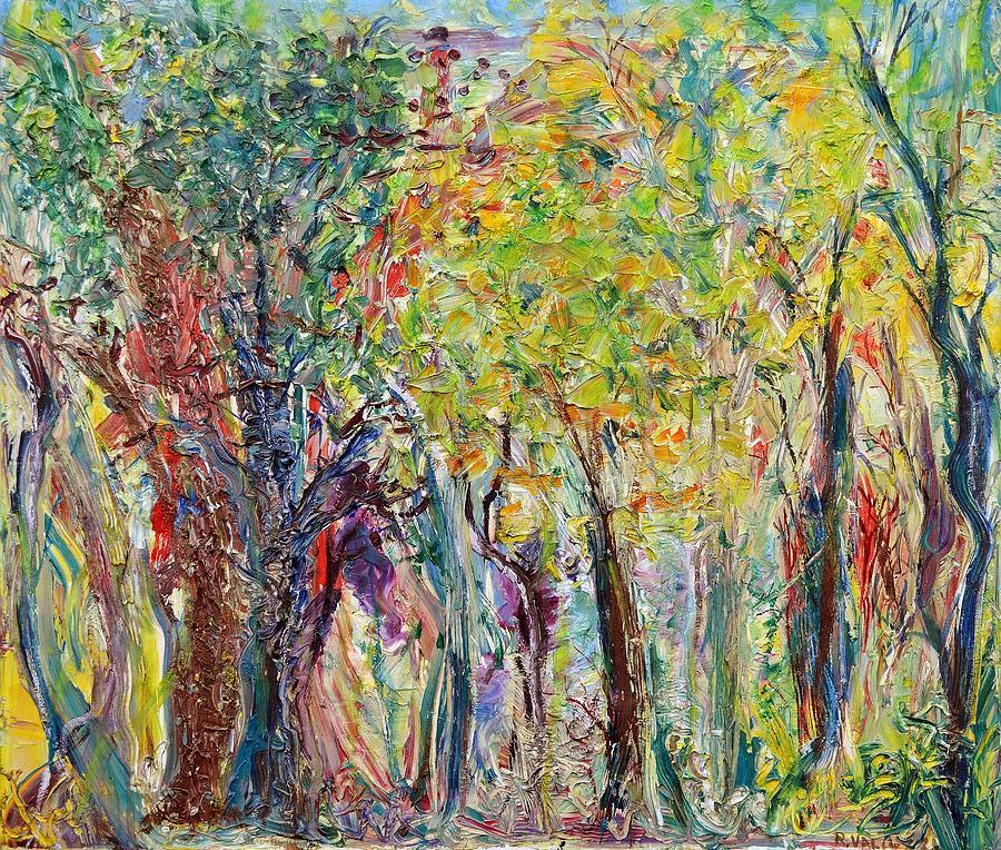 Glade Painting - Glade by Regina Valluzzi