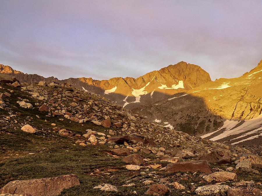 Colorado Photograph - Gladstone Peak by Aaron Spong